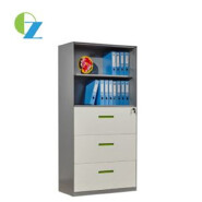 Thin Edge Steel Cupboard With Drawers