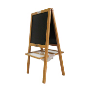 Drawing painting wooden art kids easel stand