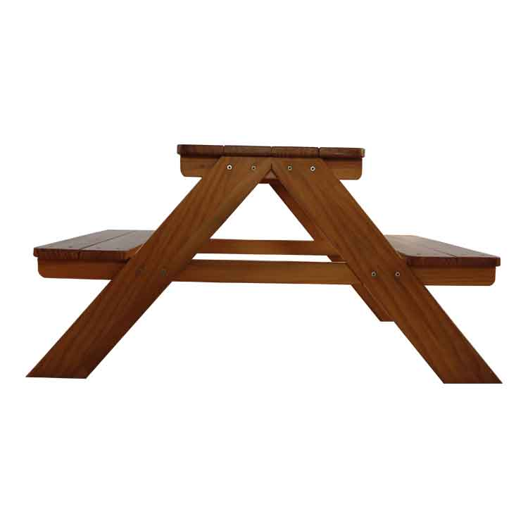 Outdoor Solid Wood Table & Chair