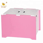 Wooden Kid Toy Box Toy Cabinet