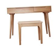 Style Mirror Corner Wood Modern Bedroom Dresser Desk