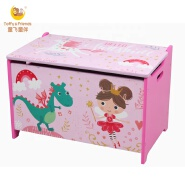 Toffy & Friends Water Paint Kids wooden toy box unicorn design for girl