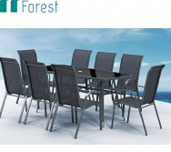 NINGBO FOREST OUTDOOR CO.,LTD. Outdoor Steel Table and Chair