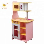 wooden kid pretend play kitchen child smart kitchen