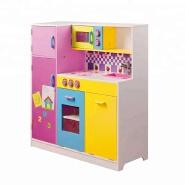 Toffy & Friends Wooden Kids Play Kitchen Set Pretend Kitchen