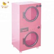 Wooden Kids Pretend Kitchen Furniture Pretend Washing Machine
