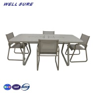Zhongshan Wellsure Industrial Limited. Outdoor Aluminum Table & Chair