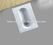 Public squat toilets sanitaryware hot pan ceramic