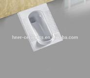 Bathroom Sanitary Ware Squat Toilet With Flush/Ceramic Squat Toilet/Squatting Pan