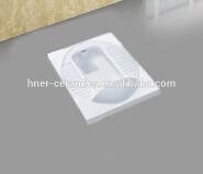 Sanitary ware ceramic wc squatting pan toilet