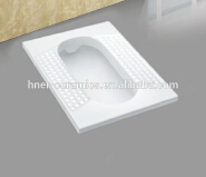 water closet bathroom wc squatting pan toilet with trapway