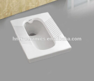Cheap price sanitary ware WC ceramic water closet Indian squatting pans for bathroom