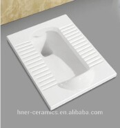 New Design Ceramic Sanitary WC Squatting Pan