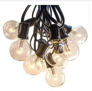 Premium LED G40 Outdoor String Lights for Patio Cafe Bistro Garden Deck Yard