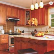 Foshan Gaoming Jia Chu Wei Si Kitchen Cabinet Co., Ltd. Melamine Board Cabinet