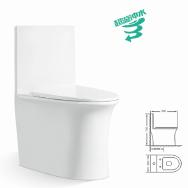 Henan Babor Sanitary Ware Co., Ltd. Toilets