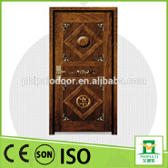 China SONCAP CIQ CE Approved Steel Wooden Armored Door