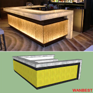 Shenzhen Wanbest Furniture Co., Ltd. Bar Table