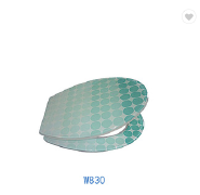 Chaozhou factory decorative resin toilet seat