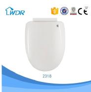Black color plastic toilet seat cover for brazil