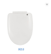 Custom made bidet toilet lid cover