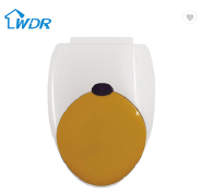 Soft close toilet seat damper toilet seat for adults and children