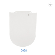 Sanitary Ware WC PP White Soft Close Toilet Seat