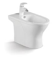 Hot selling ceramic bathroom chaozhou factory Ceramic bidet toilet D8201B