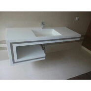 China supplier latest synthetic marble washbasin counter top for sale