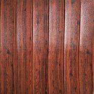 wooden type easy diy 3d wallsticker for room decor