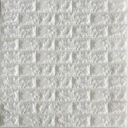 High Quality 3D foam Wallstickerr/ Creative DIY 3D Self-Adhesive waterproof PE Foam Wallpapers