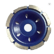 Top Quality Single Row Concrete Grinding Abrasive Diamond Cup Wheel