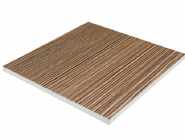 3D Wall Panel Cladding Board PVC Foam Board with Aluminum Skin or PVC Film for Indoor or Outdoor Dec