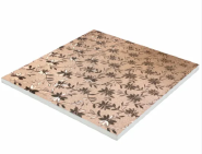 Waterproof Embossed Series PVC Foam Board for Wall Panel Home Decoration