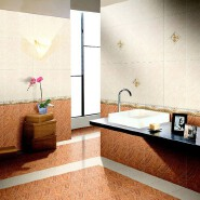30*45cm cheap price standard size bathroom ceramic tile flooring