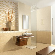 300*450mm grain ceramic floor polished bathroom border tiles