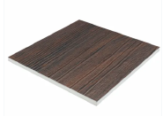 Sandwich Panel Waterproof Wooden Series PVC Foam Board for Interior or Exterior Decoration