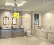 new design bathroom ink-jet tiles floor ceramic