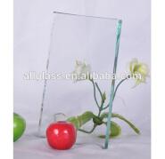 polished edge tempered glass door lock