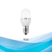 110v 240v indoor decorative mini color LED Bulb light T22