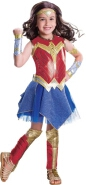 Kids Deluxe Wonder Woman Justice League Costume Large