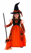 Kids Sparkle Witch Costume Small