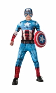 Deluxe Captain America Kids Costume