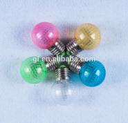 1w decoration colorful e27 led bulb P3 7 SMD