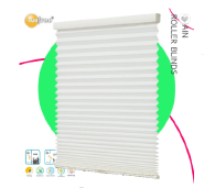 Latest Custom Design Roller Pleated Fabric Shades Office Home Decor Curtain 100% Polyester Zebra Bli