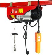 hot sale 1000kg high quality 220V electric mini wire rope pulley hoist