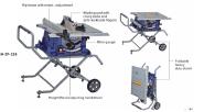 10' Electric Wood Table Saw Machine