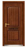 Apartment exterior door bullet proof steel wood armored door