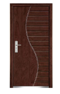 Apartment entry Armored door front designs turkish security doors