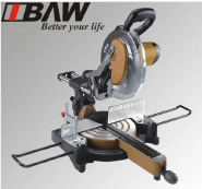 1800W 255mm Laser Sliding Miter Saw (MOD 89006)